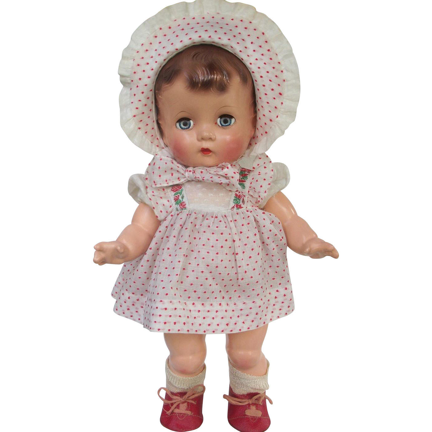 darling all original effanbee candy kid composition toddler doll