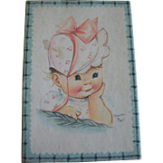 Boxed Set of Baby Charlot Byj Illustrated Cards