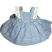 Original Campbell Kid Pinafore Dress~original to Horsman's Composition Doll