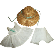 Wonderful Original Arranbee Hat With Original Slip and Panties For Composition Nancy Lee