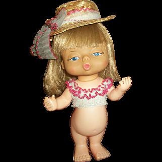 Interesting 1960s Ideal Vinyl Character Doll