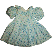 Factory Dress for Composition Toddler Type Doll