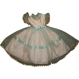 Gorgeous Ideal P-91 Formal Princess Mary Doll Dress~Toni Dress