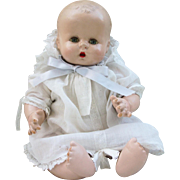 "Adorable Horsman Baby Buttercup Wonderful Condition Rare 12"" Size"