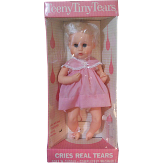 Vintage 1963 American Character Teeny Tiny Tears  MINT!!  Sealed In Original Box