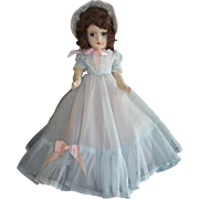 Gorgeous Composition Mary Hoyer Doll In Beautiful Gown