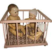 Vintage Original Dy-Dee Doll Play Pen
