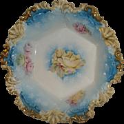 R S Prussia Porcelain Bowl