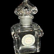 Vintage Perfume Guerlain / Baccarat Perfume Bottle