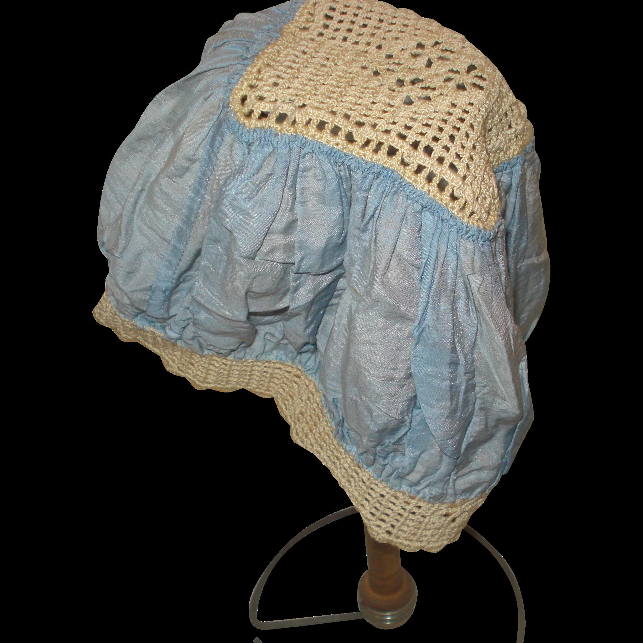 Vintage Silk Sleeping Cap
