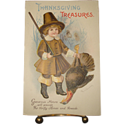 Thanksgiving Postcard Clapsaddle