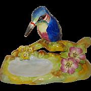 Cara-China Staffordshire Porcelain King Fisher Figurine