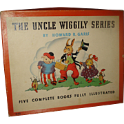 Uncle Wiggily Book Series ~1925 in the Box