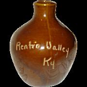 Miniature Stoneware Jug Renfro Valley, KY