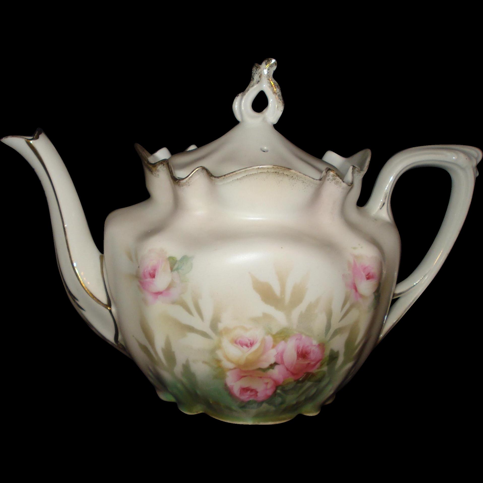 Unsigned R S Prussia Tea Pot