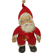 Vintage Rushton Star Creation Santa Claus Doll