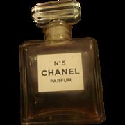 Miniature Chanel No 5 Perfume Bottle