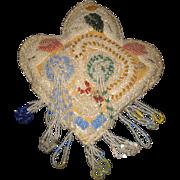 Native American Beaded Whimsey Pincushion