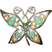 Vintage Sarah Coventry Butterfly Pin