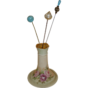 Limoges Porcelain Hat Pin Holder