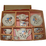 Vintage Child's Tea Set Original Box