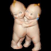 Bisque Kewpie Hugger Dolls