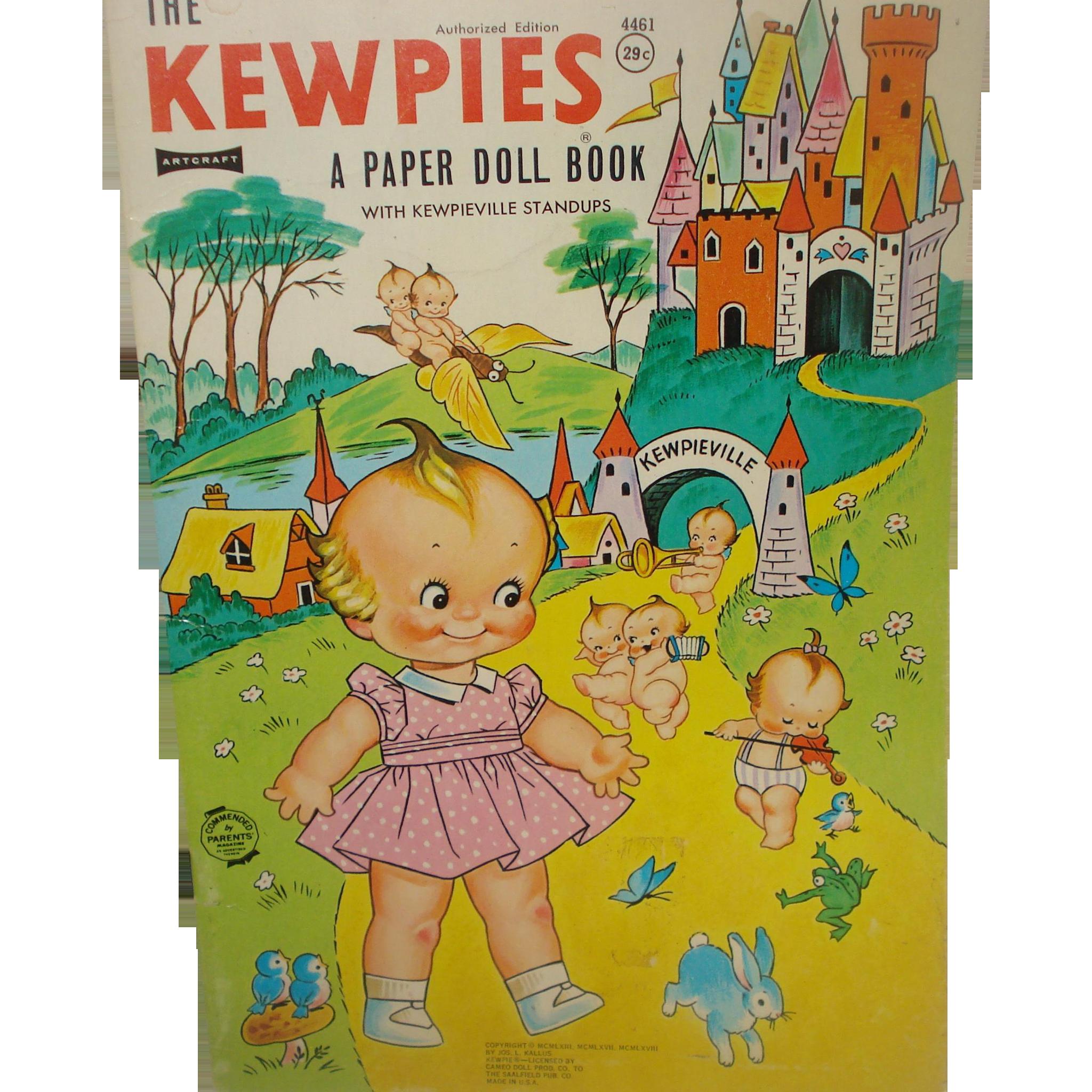 Kewpie Paper Doll Book 1963