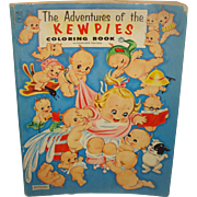 Vintage Kewpie Color Book