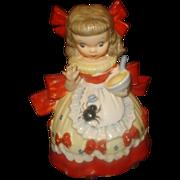Napco Little Miss Muffet Figurine