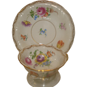 Dresden China Cup  & Saucer Klemm Mark