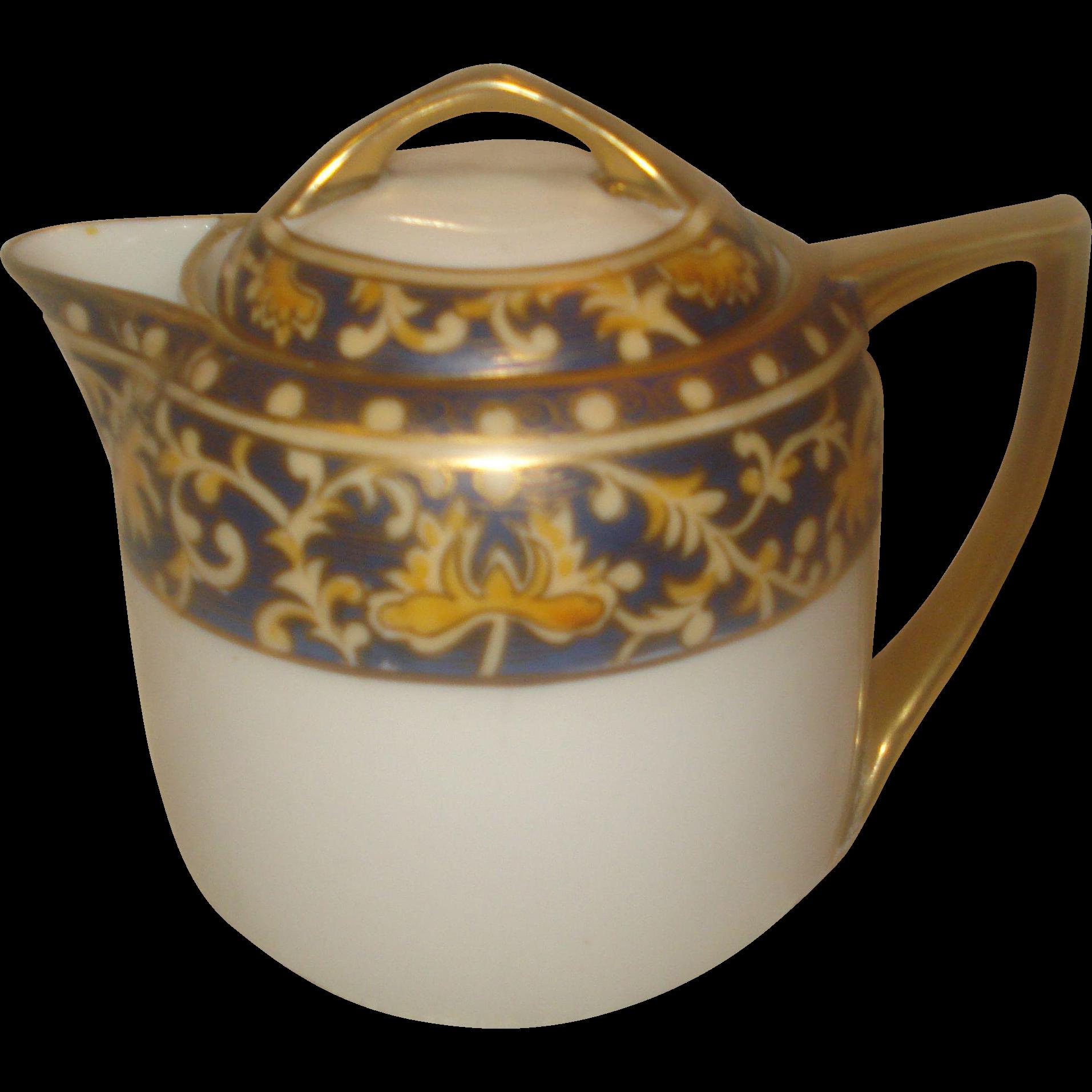 Individual Noritake Nippon Tea  Pot