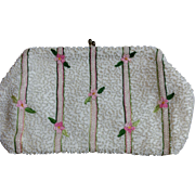 Vintage Belgium Beaded Purse