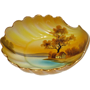 Noritake Tree In Meadow Shell Dish