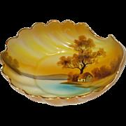 Noritake Tree In Meadow Shell Dish