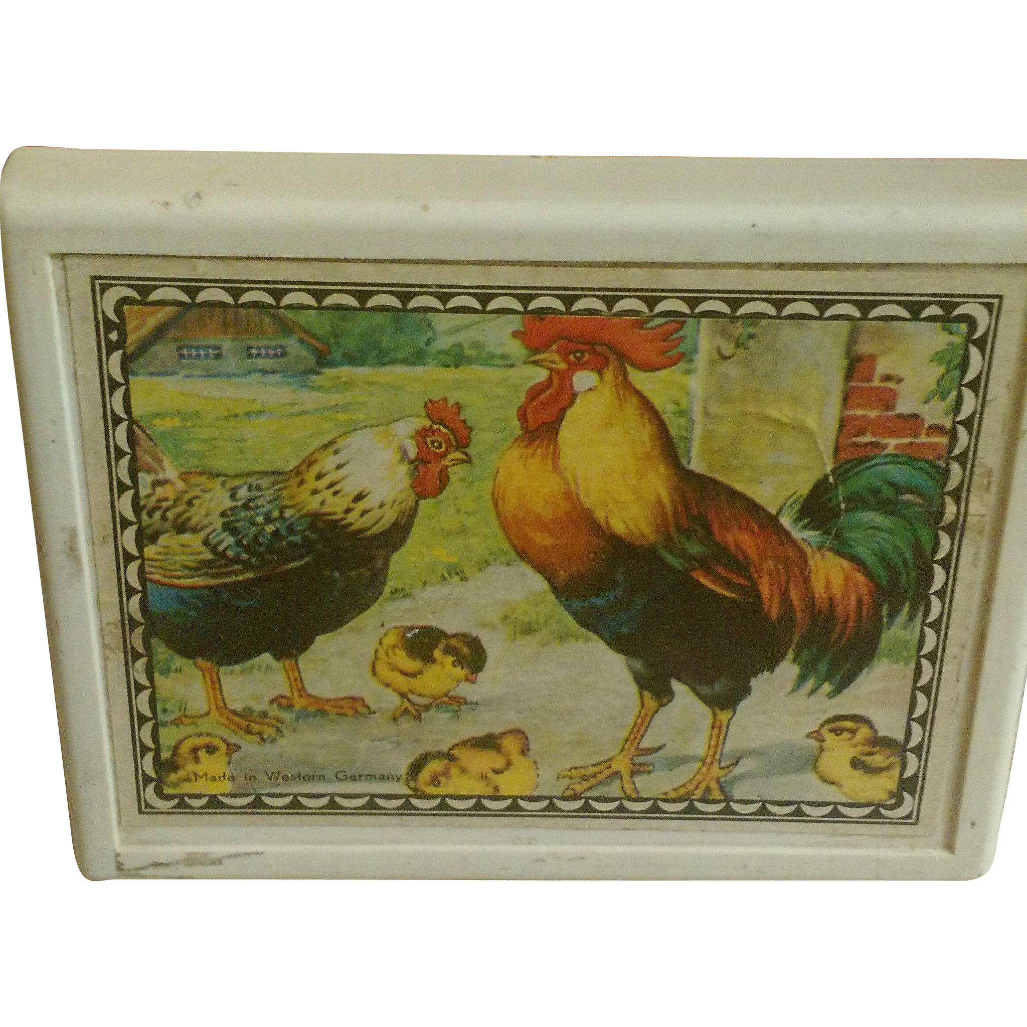 Child's Wooden Block Puzzle Western Germany