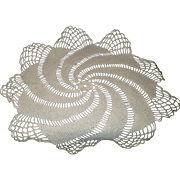 Set of Four Vintage Crochet Doilies