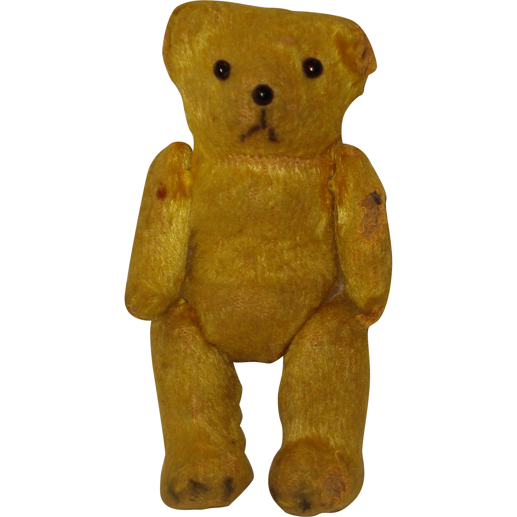 Vintage Miniature Jointed Teddy Bear