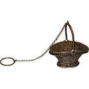 Sterling Silver Chatelaine Basket
