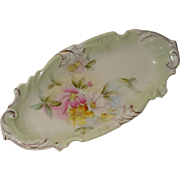 R S Prussia Porcelain Relish Dish