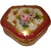 Limoges Porcelain Trinket Box