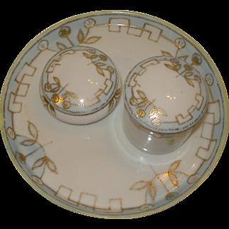 Nippon Porcelain Dresser Set