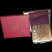Vintage Pilcher Compact with Box & Felt Bag