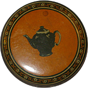 Vintage Banquet Tea Tin- Small size
