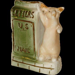 German Pig U. S. Mail Souvenir San Jose California