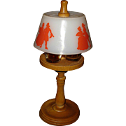 Vintage Silhouette Lamp Perfume Bottle Set Hi-Lights by Stuart