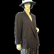 Jil Sander Double Breasted Wool Blazer M/L