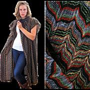 1970s Missoni Knit Long Sweater Vest