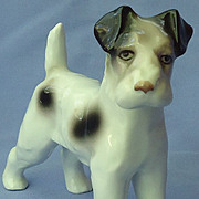1950s Wire Fox terrier Germany  Erphila 6""