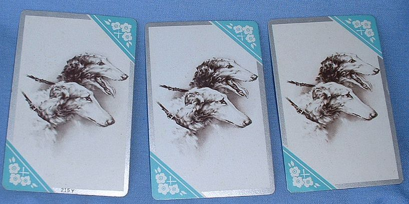 Borzoi card deck plus 3