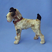 antique Airedale Fox terrier Germany French fashion doll